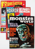 Magazines:Horror, Miscellaneous Movie Monster Magazines Short Box Group (Various Publishers, 1960s-70s) Condition: Average VG/FN....
