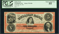 Obsoletes By State:District of Columbia, Washington, DC- Bullion Bank $5 Oct. 30, 1861 G8a. ...