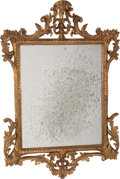Decorative Arts, Continental:Other , A Continental Carved Giltwood Mirror Frame, 19th century. 37 h x24-1/2 w inches (94.0 x 62.2 cm). ...