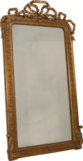 Decorative Arts, French:Other , A Napoleon III Carved Giltwood Mirror Frame, last half 19thcentury. 75-1/2 h x 41-1/2 w inches (191.8 x 105.4 cm). ...