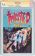 Modern Age (1980-Present):Horror, Twisted Tales #1 Signature Series (Pacific Comics, 1982) CGC NM+9.6 White pages....