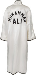 Boxing Collectibles:Memorabilia, 1978 Muhammad Ali Fight Worn Robe from Leon Spinks II Bout....