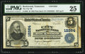 National Bank Notes:Tennessee, Rockwood, TN - $5 1902 Plain Back Fr. 609 The City NB Ch. # 12264....