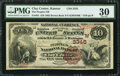 National Bank Notes:Kansas, Clay Center, KS - $10 1882 Brown Back Fr. 481 The Peoples NB Ch. # (W)3345. ...
