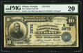 National Bank Notes:Georgia, Albany, GA - $10 1902 Date Back Fr. 618 The Citizens First NB Ch. # (S)3872. ...