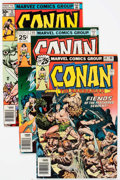 Bronze Age (1970-1979):Adventure, Conan the Barbarian #60-73 Box Lot (Marvel, 1976-77) Condition: Average VG/FN....
