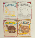 Prints, Larry Rivers (American, 1925-2002). Camel Quartet, 1978. Lithograph in colors on wove paper. 22-1/4 x 20-1/2 inches (56....