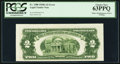 Error Notes:Skewed Reverse Printing, Fr. 1508 $2 1928G Legal Tender Note. PCGS Choice New 63PPQ.. ...