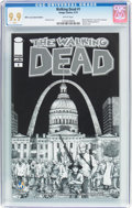 Modern Age (1980-Present):Horror, Walking Dead #1 Wizard World St. Louis Sketch Edition (Image, 2015)CGC MT 9.9 White pages....