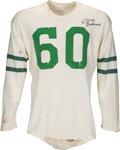 Football Collectibles:Uniforms, 1949-55 Chuck Bednarik Game Worn Philadelphia Eagles Rookie-Format Jersey, MEARS A10....