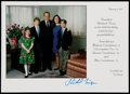 Miscellaneous Collectibles:General, Richard Nixon Signed Christmas Card....