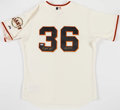 Baseball Collectibles:Uniforms, Gaylord Perry Signed Giants Jersey....