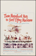 "Movie Posters:Adventure, Those Magnificent Men in Their Flying Machines (20th Century Fox, 1965). Window Card (14"" X 22""). Adventure.. ..."