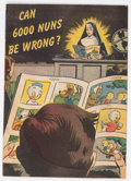 Golden Age (1938-1955):Religious, Topix #nn Can 6,000 Nuns Be Wrong? (Catechetical Guild, 1950)Condition: VF....