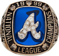 Baseball Collectibles:Others, 1999 Don Baylor Atlanta Braves National League Championship Ring....