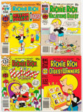 Bronze Age (1970-1979):Cartoon Character, Harvey Casper and Richie Rich Related Digest File Copy Long Box Group (Harvey, 1970s-80s) Condition: Average NM-....