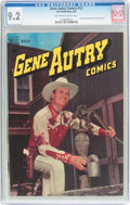 Golden Age (1938-1955):Western, Gene Autry Comics #13 (Dell, 1948) CGC NM- 9.2 Off-white to white pages....