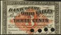 Obsoletes By State:Ohio, Cincinnati, OH- C.B. Camp & Co. at Bank of the Ohio Valley 3?Dec. 1, 1862 Remainder...