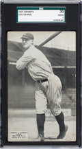 Baseball Cards:Singles (Pre-1930), 1925 Exhibits Lou Gehrig Rookie SGC 30 Good 2....
