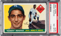 Baseball Cards:Singles (1950-1959), 1955 Topps Sandy Koufax Rookie #123 PSA NM-MT 8....