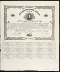 Confederate Notes:Group Lots, Ball 54 Cr. 29 $100 1861 Bond Very Fine. . ...