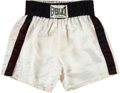 Boxing Collectibles:Autographs, Early 1970's Muhammad Ali Training Worn Trunks & Gloves.. ...
