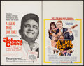 """Movie Posters:Documentary, Johnny Cash! The Man, His World, His Music & Other Lot (Continental, 1969). Window Cards (2) (14"""" X 22""""). Documentary.. ... (Total: 2 Items)"""