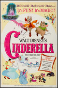 """Movie Posters:Animation, Cinderella & Other Lot (Buena Vista, R-1973). One Sheets (2)(27"""" X 41""""). Animation.. ... (Total: 2 Items)"""