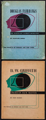 "Douglas Fairbanks/D.W. Griffith Lot (Museum of Modern Art, 1940). Hardcover Books (2) (7.75"" X 10.25""). Photo..."