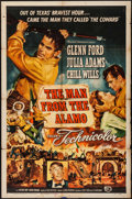 "Movie Posters:Western, The Man from the Alamo (Universal International, 1953). One Sheet (27"" X 41""). Western.. ..."