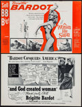 """Movie Posters:Foreign, And God Created Woman & Others Lot (Kingsley-International, 1957). Uncut Pressbooks (5) (Multiple Pages, 11"""" X 17""""). Foreign... (Total: 5 Items)"""