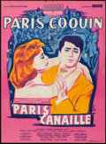 """Movie Posters:Foreign, Maid in Paris (Sonofilm, 1957). French Affiche (22.5"""" X 30.75""""). Foreign.. ..."""
