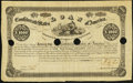 Confederate Notes:Group Lots, Ball 35 Cr. 77 $1000 1861 Bond Very Good, 4 HOC.. ...