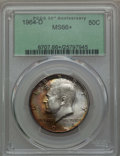 Kennedy Half Dollars, 1964-D 50C MS66+ PCGS. PCGS Population (683/47 and 29/1+). NGCCensus: (407/14 and 1/0+). Mintage: 156,205,440. ...