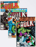 Modern Age (1980-Present):Superhero, The Incredible Hulk #251-257 Multiple Copies Long Box Group(Marvel, 1980-81) Condition: Average VF/NM....