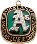 Baseball Collectibles:Others, 1988 Don Baylor Oakland Athletics American League Championship Ladies' Pendant. ...