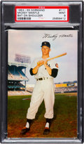 Baseball Cards:Singles (1950-1959), 1953-55 Dormand Mickey Mantle (Bat on Shoulder) PSA Mint 9 - PopOne with None Higher! ...