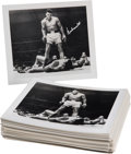 Boxing Collectibles:Autographs, 1993 Muhammad Ali Signed Photographs Lot of 100. ...