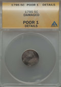 Early Half Dimes, 1795 H10C -- Damaged -- ANACS. Poor 1 Details. NGC Census: (0/320).PCGS Population (0/594). Mintage: 78,600....