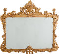 Decorative Arts, French:Other , A Continental Carved Giltwood Mirror, early 20th century. 46 h x 54w inches (116.8 x 137.2 cm). PROPERTY FROM A DALLAS GE...