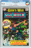Silver Age (1956-1969):War, Our Army at War #168 (DC, 1966) CGC VF/NM 9.0 White pages....