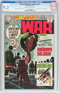 Star Spangled War Stories #151 (DC, 1970) CGC NM- 9.2 Off-white to white pages