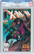 Modern Age (1980-Present):Superhero, X-Men #266 (Marvel, 1990) CGC NM 9.4 White pages....