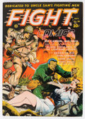 Golden Age (1938-1955):War, Fight Comics #28 (Fiction House, 1943) Condition: VG/FN....