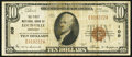 National Bank Notes:Kentucky, Louisville, KY - $10 1929 Ty. 1 The First NB Ch. # 109. ...