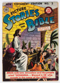 Golden Age (1938-1955):Miscellaneous, Picture Stories from the Bible New Testament Edition #2 (All-American Publications/EC, 1946) Condition: VF....