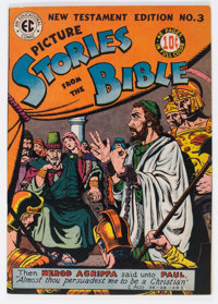 Picture Stories from the Bible New Testament Edition #3 (EC, 1946) Condition: VF