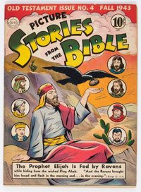 Picture Stories from the Bible Old Testament 4 (DC, 1943) Condition: VF
