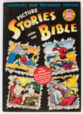 Golden Age (1938-1955):Religious, Picture Stories from the Bible Complete Old Testament Edition (EC,1947) Condition: VF....