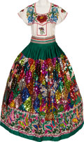 Music Memorabilia:Costumes, Linda Ronstadt -- An Elaborate Folklorico Costume Worn for NumerousPerformances and Events (1980s-1990s).... (Total: 2 )
